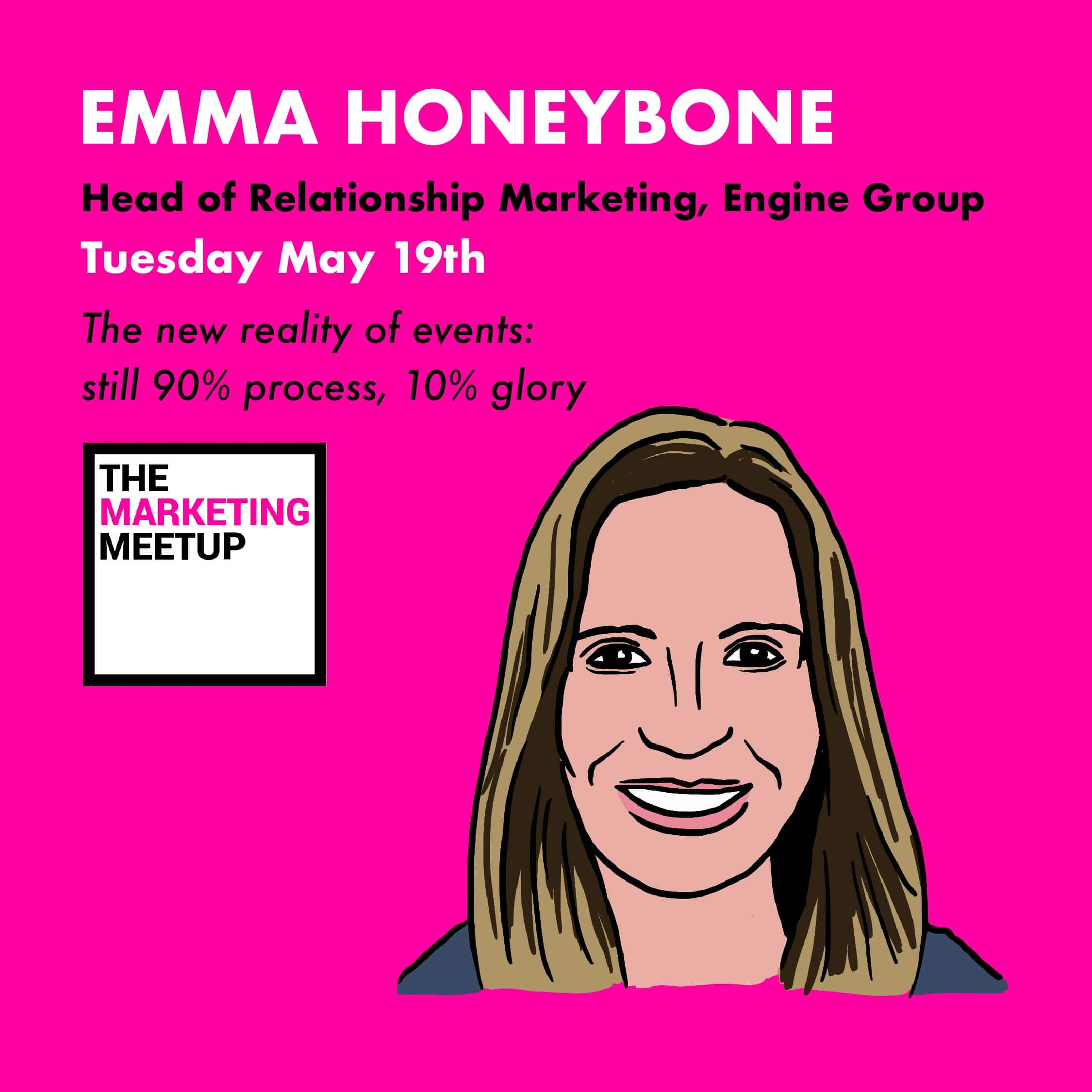 How have events changed in reaction to COVID, and how to nail them now – Emma Honeybone, Head of Relationship Marketing, Engine Group