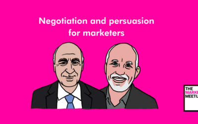Persuasion and negotiation attitudes, skills and techniques for marketers – John Moss & Chris Smith