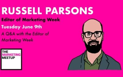 Question and Answer with the Editor in Chief of Marketing Week, Russell Parsons