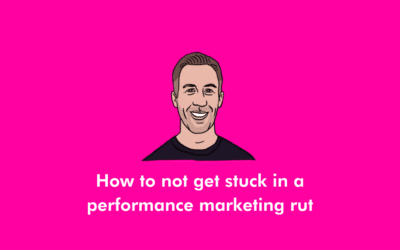 How to not get stuck in a performance marketing rut – Kris Tait, US MD of Croud