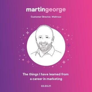 Martin George, Waitrose