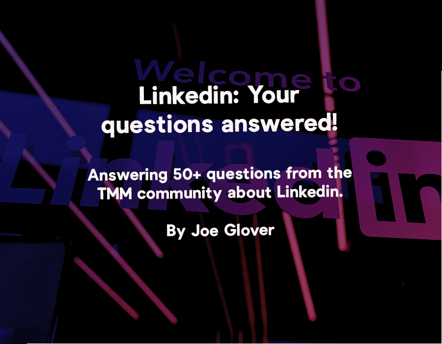 Linkedin questions answered